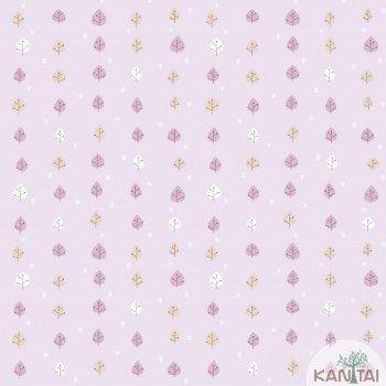 Papel de Parede Folhinhas Baby Charmed BB221605