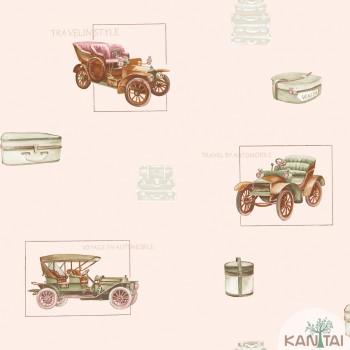 Papel de Parede Carros Baby Charmed BB220003