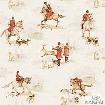 Papel de Parede Cavalos Baby Charmed BB220103