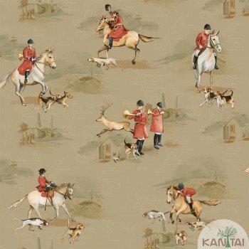 Papel de Parede Cavalos Baby Charmed BB220104