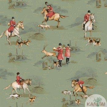 Papel de Parede Cavalos Baby Charmed BB220106