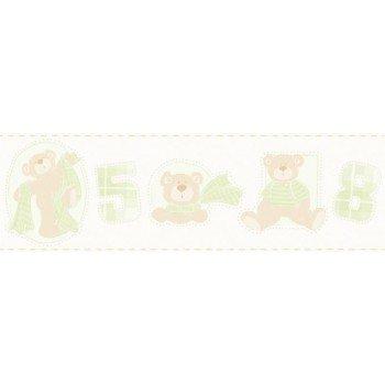 Faixas Papel de Parede Ursos e Números Bambino´s Ref. 3209