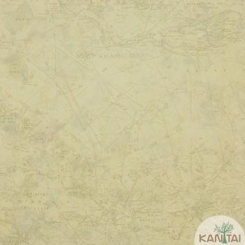 Papel de Parede Mapa Beauty Wall REF: GF073205