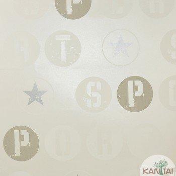 Papel de parede Letra, Tipografia Beauty Wall REF: GF073401