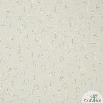 Papel de Parede Letra Beauty Wall REF: GF073501
