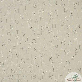 Papel de Parede Letra Beauty Wall REF: GF073504