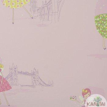 Papel de Parede Fadas Beauty Wall REF: GF073804