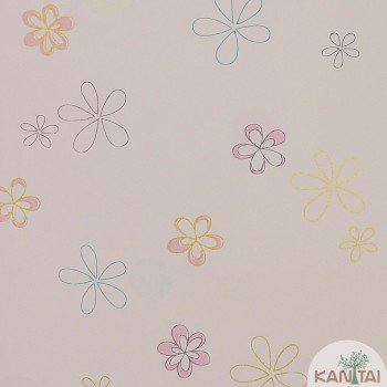 Papel de Parede Flores Beauty Wall REF: GF074303