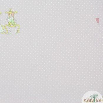 Papel de Parede Poá Beauty Wall REF: GF084003