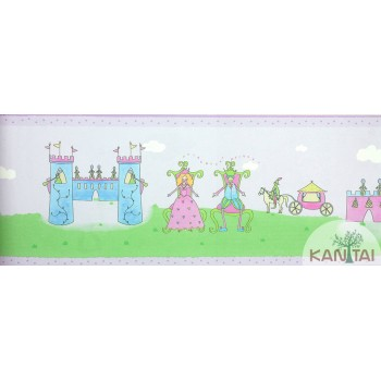 Faixa Papel de Parede Castelo Beauty Wall REF: GF084101B