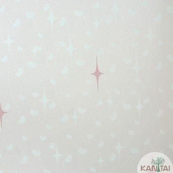Papel de Parede Coração, Estrelas Beauty Wall REF: GF084402