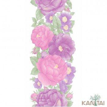 Papel de parede Floral Bronx Ref. 651402
