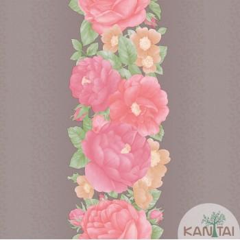Papel de parede Floral Bronx Ref. 651404