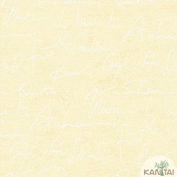 Papel de Parede Escritas, Letras DaVinci II Ref.DV120905