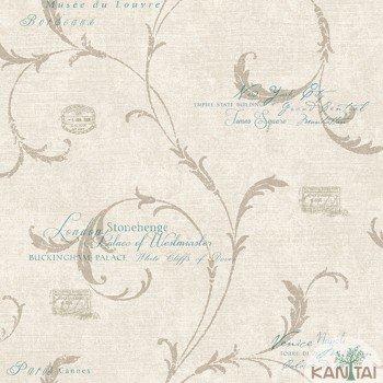 Papel de Parede Letras, Arabesco DaVinci II Ref.SA5063