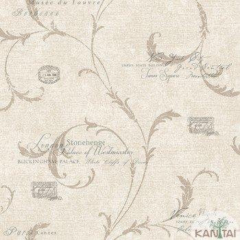 Papel de Parede Letras, Arabesco DaVinci II Ref.DV121202