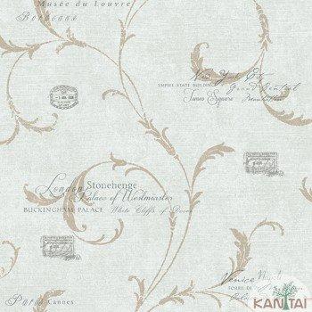 Papel de Parede Letras DaVinci II Ref.DV121405