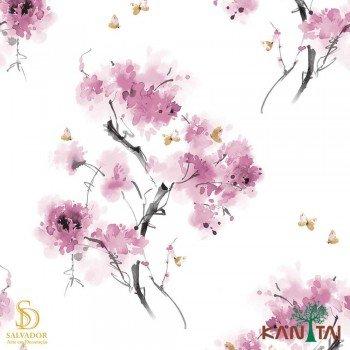 Papel de Parede Floral Elegance 4 Ref. EL203601R