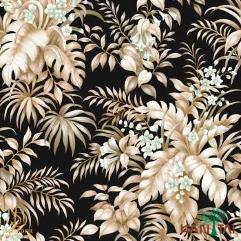 Papel de Parede Folhas e Flores Elegance 4 Ref. EL204403R