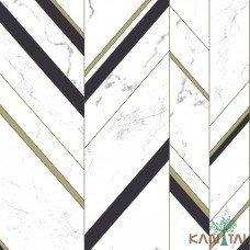 Papel de Parede Geométrico Elegance 2 Ref. EL201804R