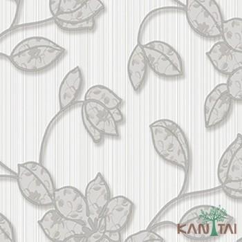 Papel de Parede Flores, Listras Element 3 Ref. 3E303101R