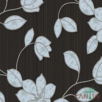 Papel de Parede Flores, Listras Element 3 Ref. 3E303103R