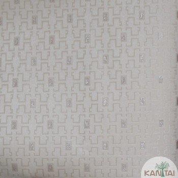 Papel de Parede Gemétrico Grace III Ref.3G203801R
