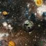 Papel de Parede Espaços com Planetas Hello Kids Ref. HK222902