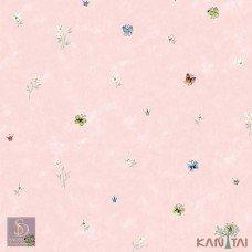 Papel de Parede Borboletas e Flores Hello Kids Ref. HK223201
