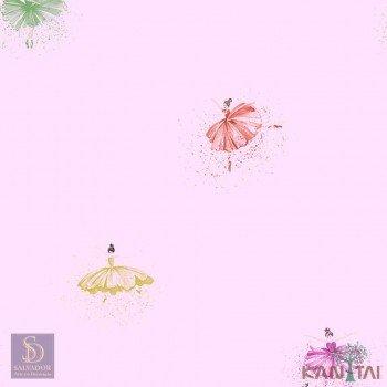 Papel de Parede Bailarinas Hello Kids Ref. HK223802