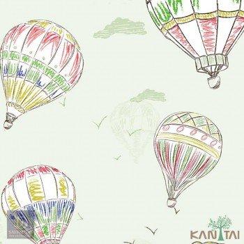 Papel de Parede Balão Hello Kids Ref. HK224002