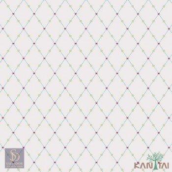 Papel de Parede Geométrico Hello Kids Ref. HK224101