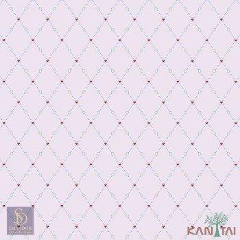Papel de Parede Geométrico Hello Kids Ref. HK224102