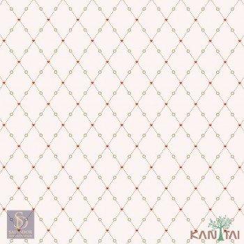 Papel de Parede Geométrico Hello Kids Ref. HK224103