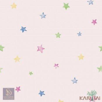 Papel de Parede Estrelas Hello Kids Ref. HK224201