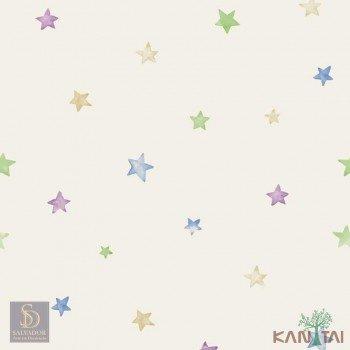 Papel de Parede Estrelas Hello Kids Ref. HK224203
