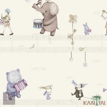 Papel de Parede Elefantes Hello Kids Ref. HK224301