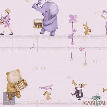 Papel de Parede Elefantes Hello Kids Ref. HK224305