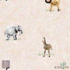 Papel de Parede Animais Hello Kids Ref. HK224401