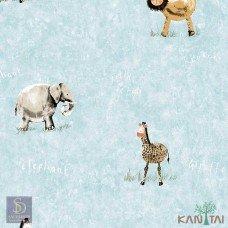 Papel de Parede Animais Hello Kids Ref. HK224404