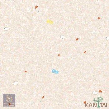 Papel de Parede Estrelas, Nuvens, Coração Hello Kids Ref. HK224702