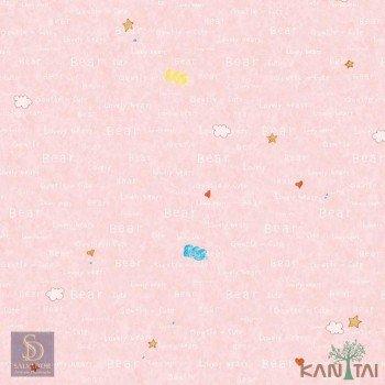 Papel de Parede Estrelas, Nuvens, Coração Hello Kids Ref. HK224703