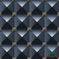 Papel de Parede Geométrico 3D Metropolis II REF:MT781002R