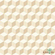 Papel de Parede Geométrico 3D OBA REF:OB71201R