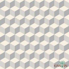 Papel de Parede Geométrico 3D OBA REF:OB71202R