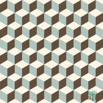 Papel de Parede Geométrico 3D OBA REF:OB71203R