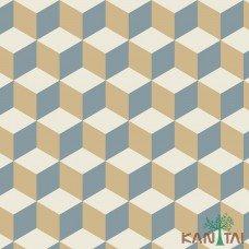 Papel de Parede Geométrico 3D OBA REF:OB71204R