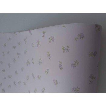 Papel de parede Floral Lilas Olá Baby REF .FA38902
