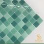 Pastilha Adesiva Resinada 28x28cm Tiffany - PPR065