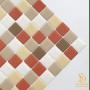 Pastilha Adesiva Resinada 28x28cm Açucar Mascavo - PPR076